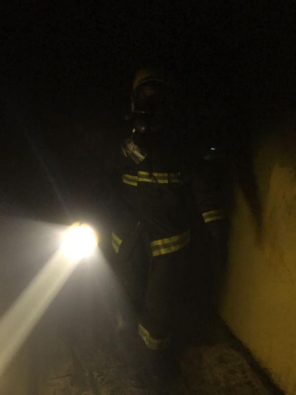 حريق شقة بابوعريش1