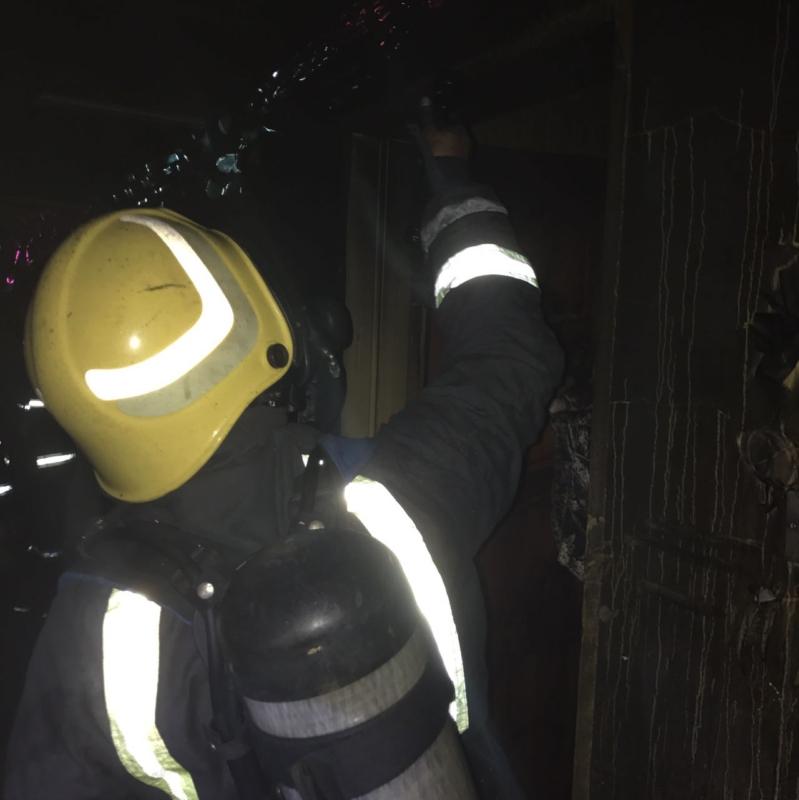 حريق شقة بابوعريش4