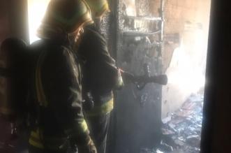 بسبب عبث الأطفال.. حريق شقة يُخلي 7 أشخاص في الطائف - المواطن