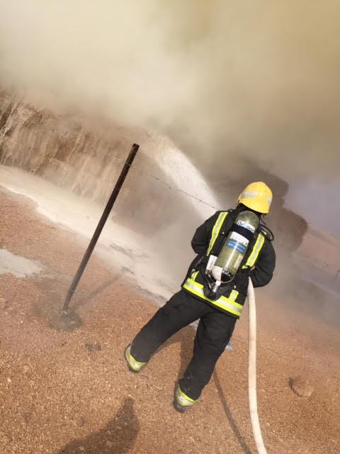 حريق عرعر 3