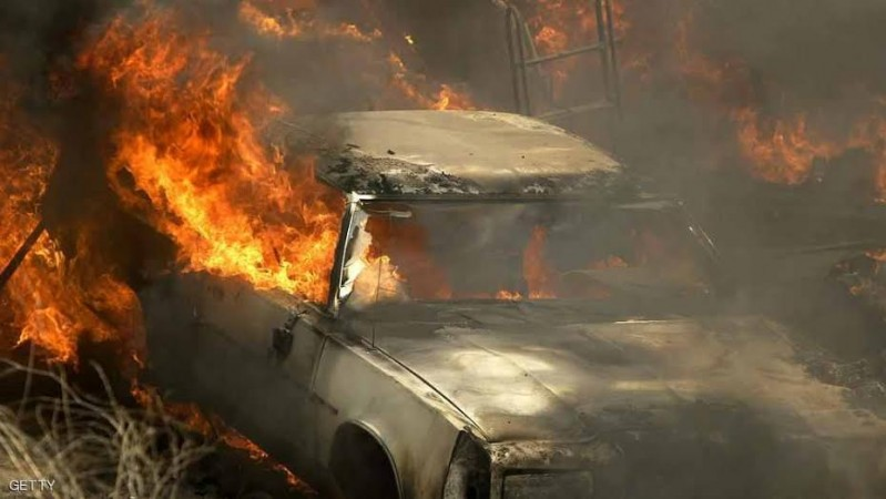 حريق عمان