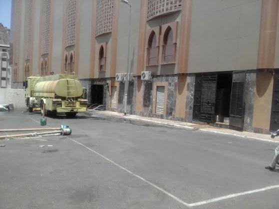 حريق فندق مكة (1)