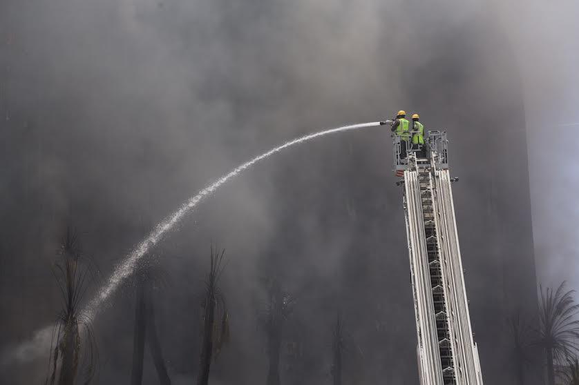 حريق فندق مكة (3)