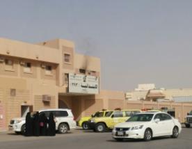 حريق في ابتدائية بـ #الرياض 2