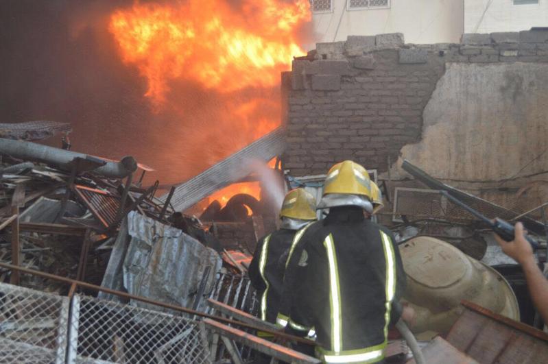 حريق في المدينة 3