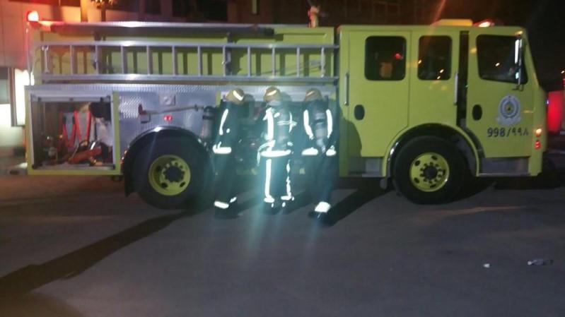 حريق في مستشفى الحياة (2)