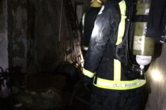 حريق في منزل شعبي يصيب 4 في جدة - المواطن