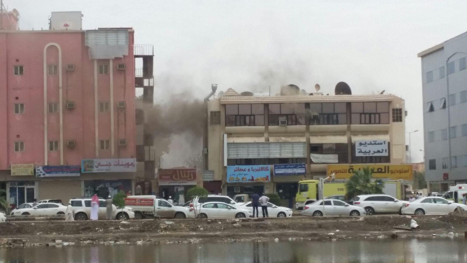 حريق-مبني-روضة-بجازان (2)