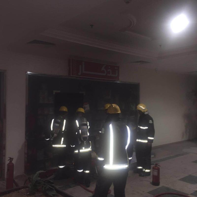 حريق محدود بمجمع ابها (259276181) 