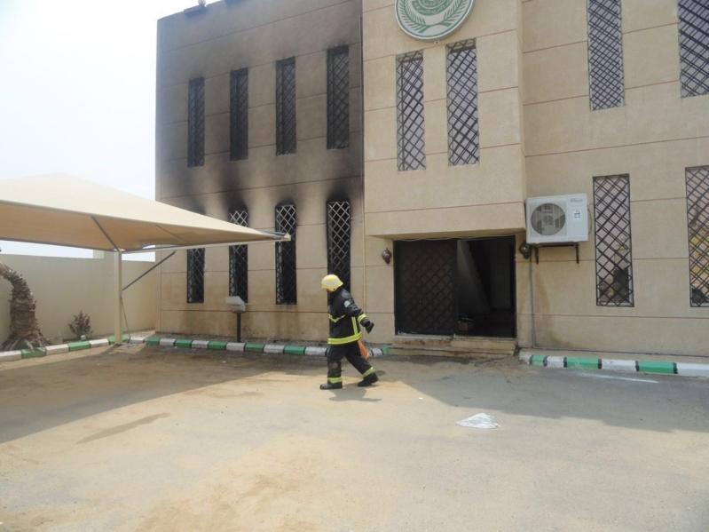 حريق مركز مسلية7