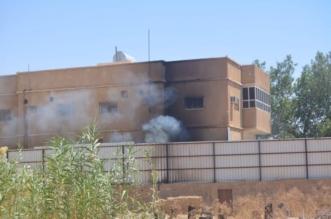 للمرة الثانية وبفعل فاعل.. حريق مزرعة نخيل في #سكاكا يمتدّ لمنزلين - المواطن