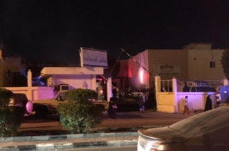 #عاجل ..صور إخلاء 42 مريضًا من مستشفى العارضة بسبب حريق - المواطن