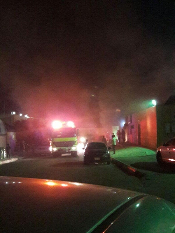 حريق مستشفى العارضة