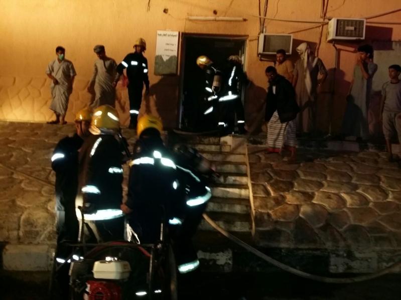 حريق مستشفى العارضة11