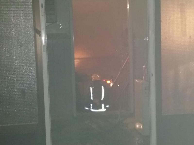 حريق مستشفى العارضة12