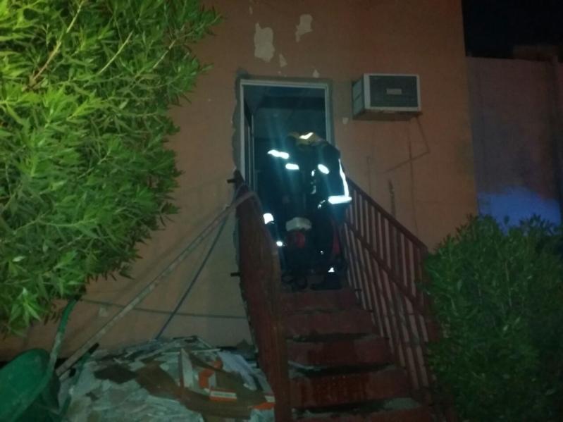 حريق مستشفى العارضة13
