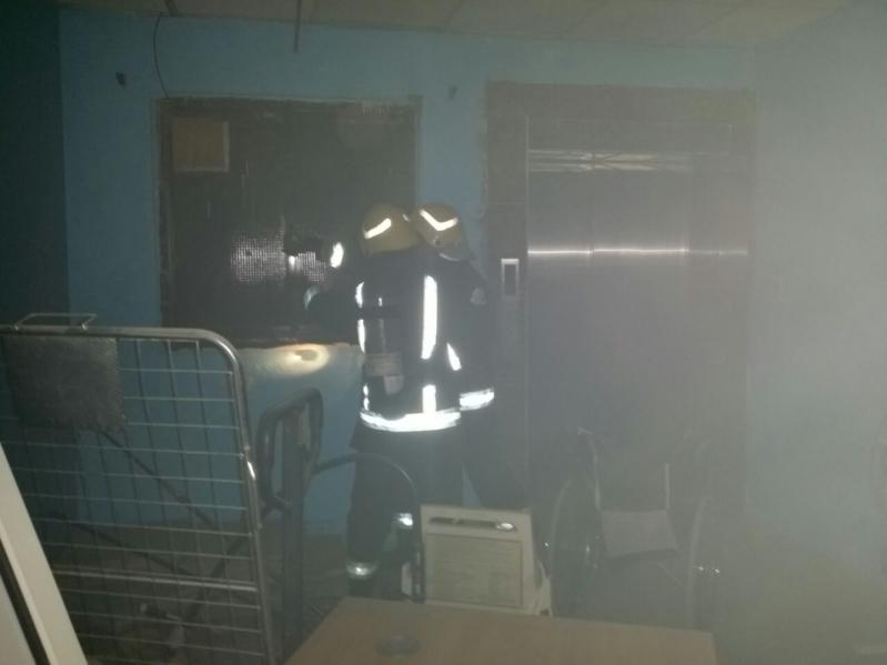 حريق مستشفى العارضة14