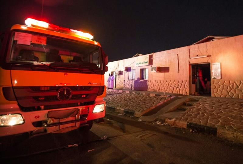 حريق مستشفى العارضة2