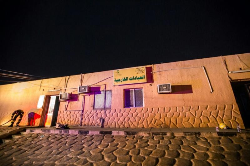 حريق مستشفى العارضة3