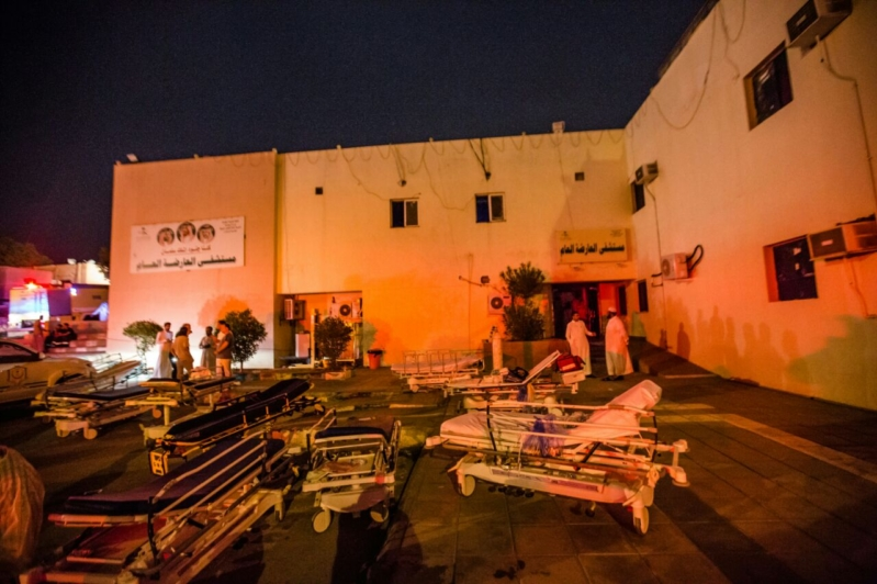 حريق مستشفى العارضة4