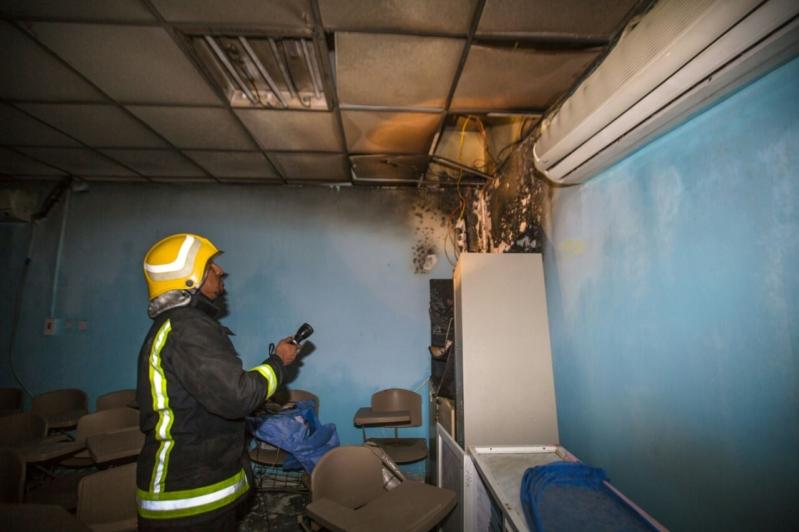 حريق مستشفى العارضة5