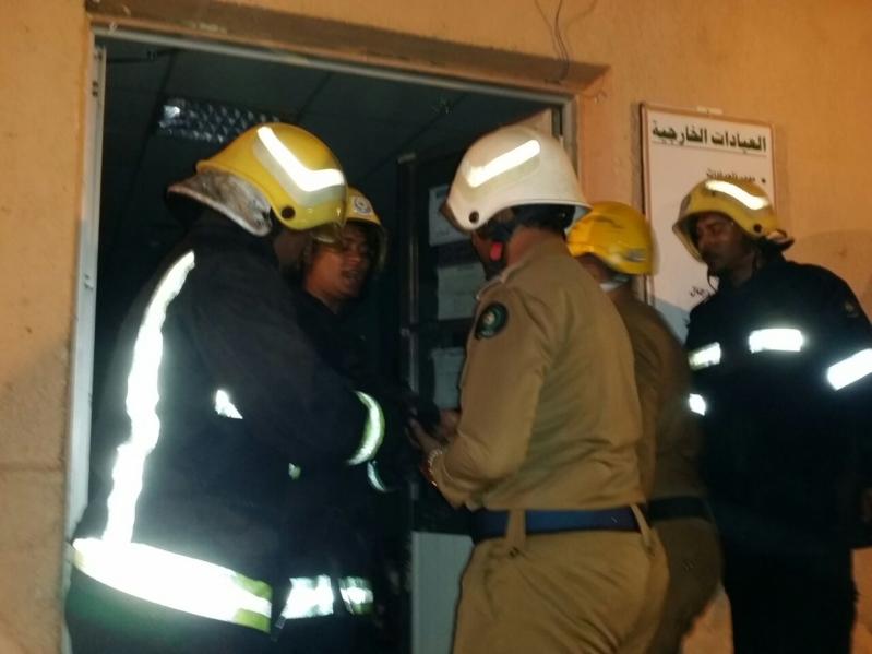 حريق مستشفى العارضة9