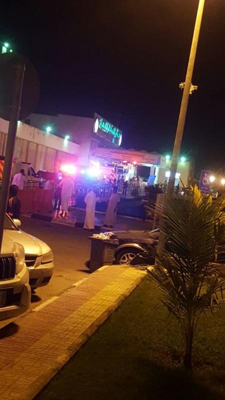 حريق مستشفى الملك_فهد3