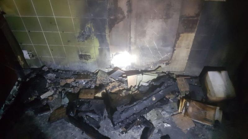 حريق مستشفى صامطة1