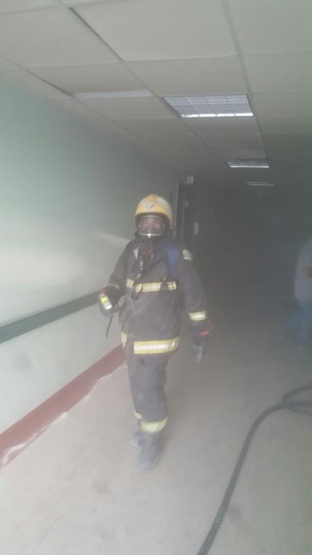 حريق مستشفى صامطة6