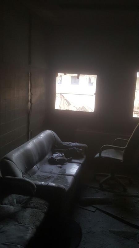 حريق مستشفى صامطة8