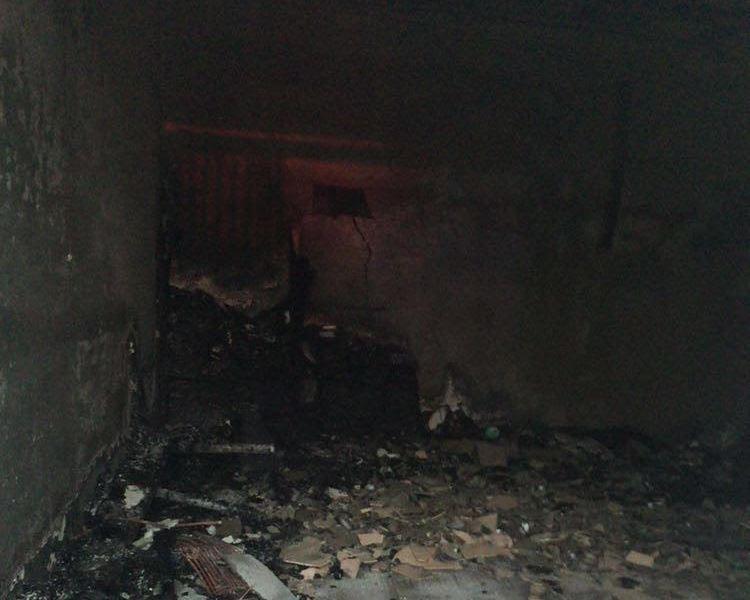 حريق معرض سيارات بينبع (3)