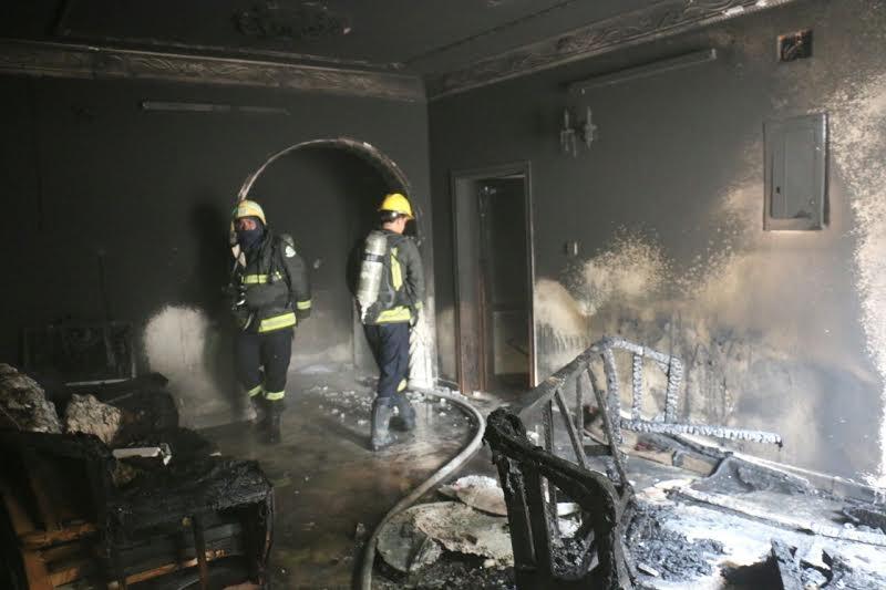 حريق مكة