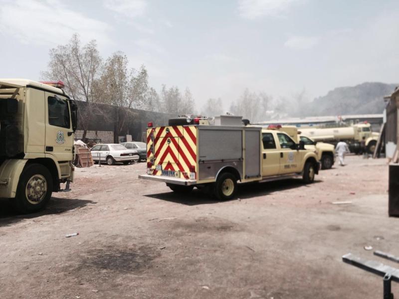 حريق مناجر المدينة (3)
