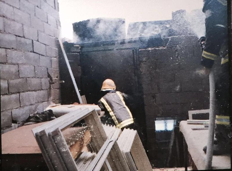 حريق مناجر المدينة (4)