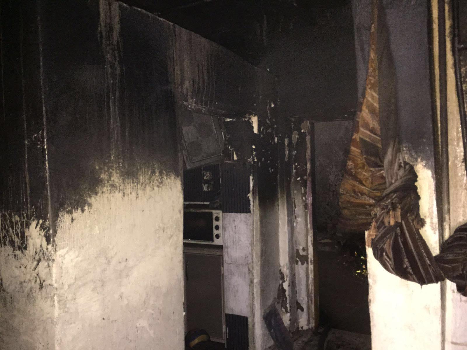 حريق منزل بالمدينة المنورة (1)