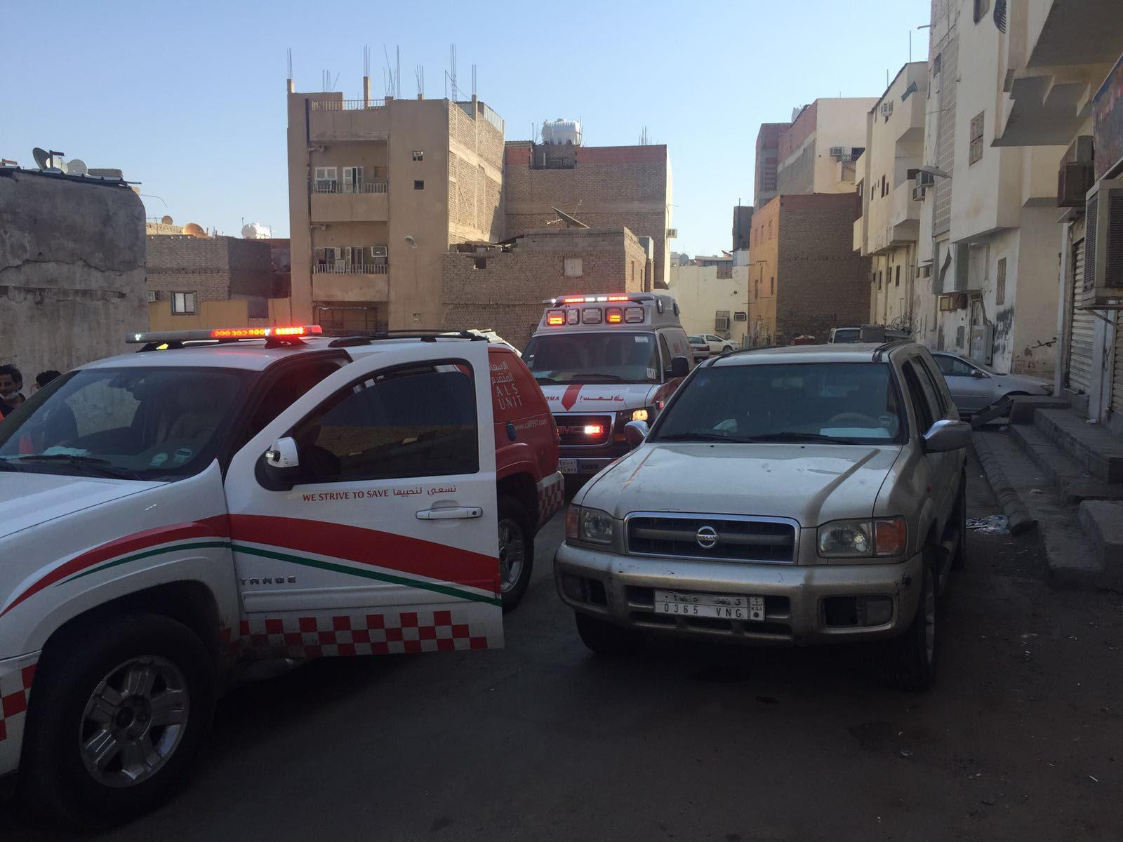 حريق منزل بالمدينة المنورة (2)