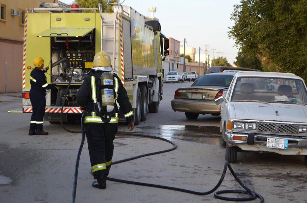 حريق-منزل-بحي-القادسية (2)