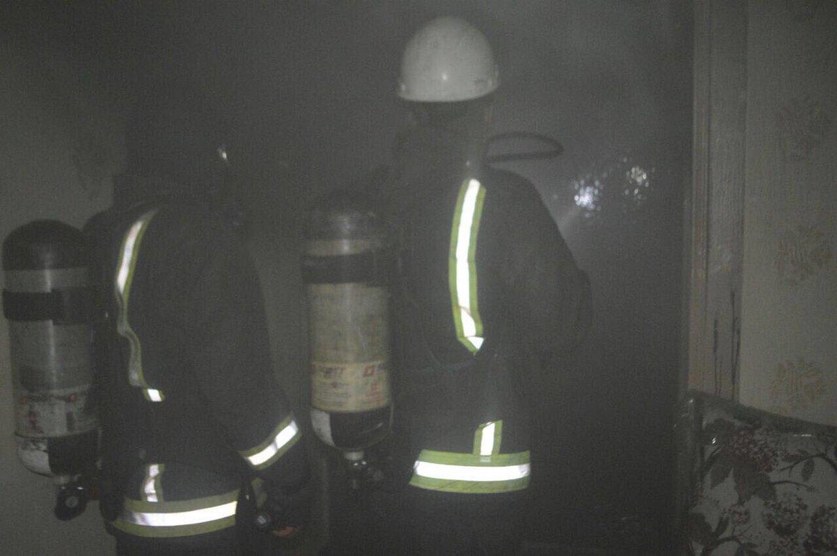 حريق منزل شعبي في جدة (1)