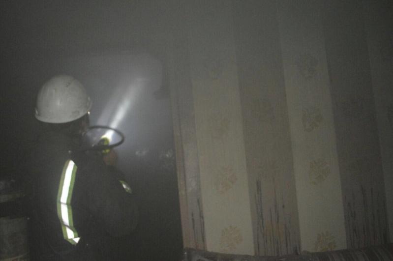 حريق منزل شعبي في جدة (2)