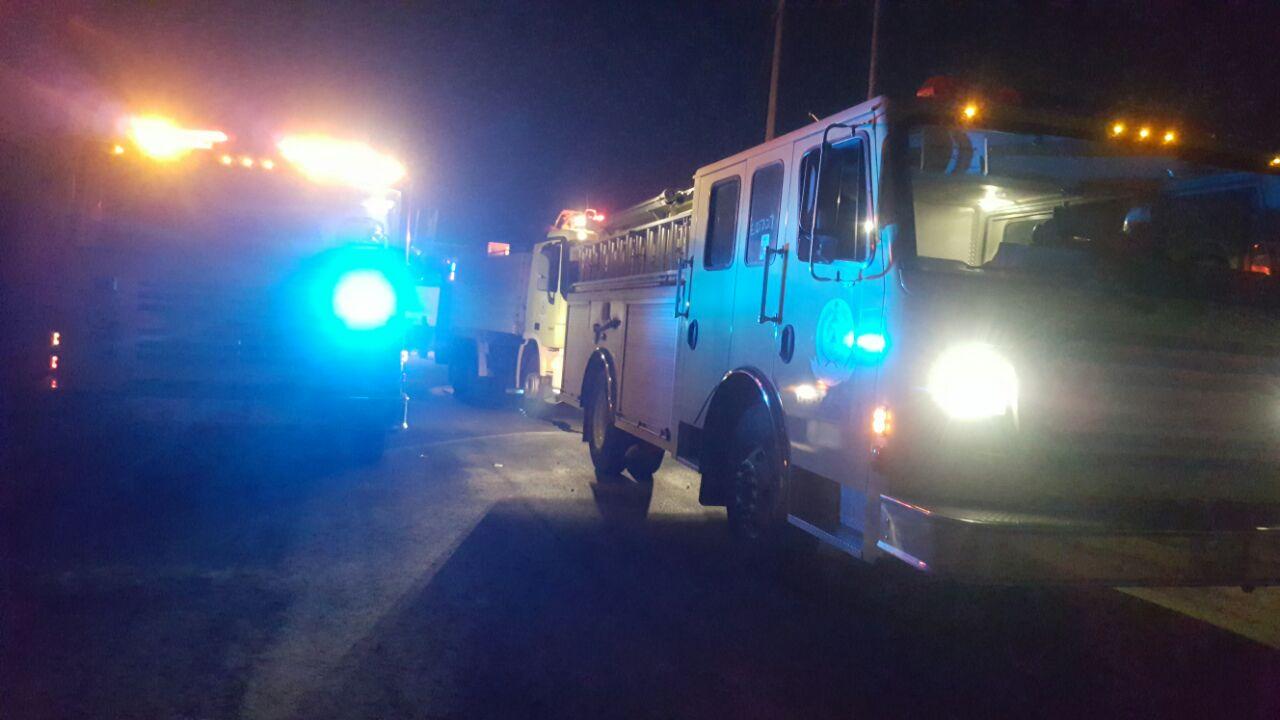 حريق منزل في أبي عريش (3)
