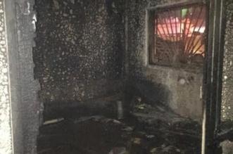 بالصورة.. إخلاء 50 شخصاً وإصابة طفلتين في حريق عمارة سكنية بالخبر - المواطن