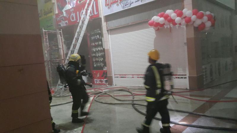 حريق نشب في ميزان للتخزين 3