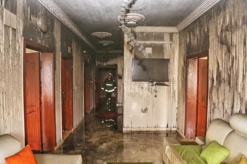 حريق نوارية مكة 2