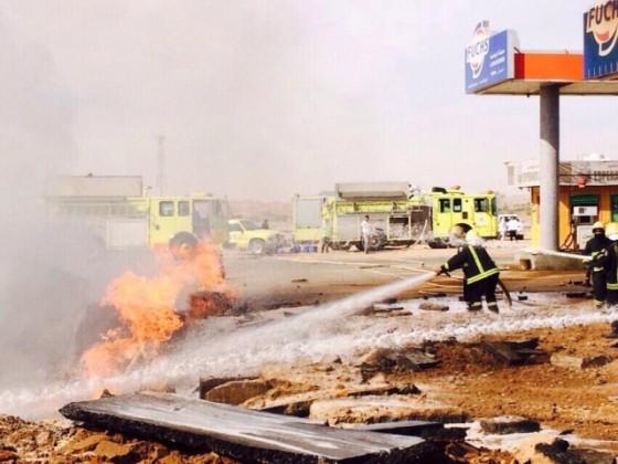 حريق-وقود-تبوك 1