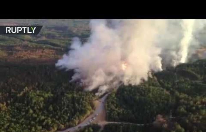 بالفيديو.. إعلان حالة الطوارئ بولاية ألاباما