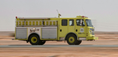 حريق يلتهم سيارة بمزارع  حقروصين1