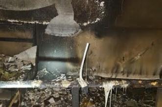 انفجار غاز يسبب حريقًا في منزلٍ بحي العوالي - المواطن