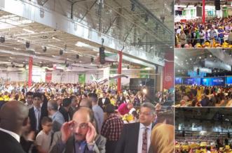 بالصور.. حشود المعارضة الإيرانية في باريس تصدم ملالي طهران - المواطن