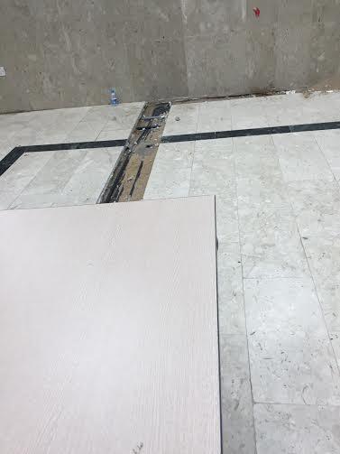 حفرة صالة مبنى جامعة الطائف 4