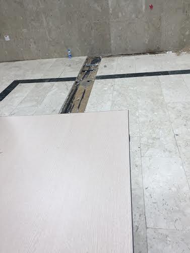 حفرة صالة مبنى جامعة الطائف 8